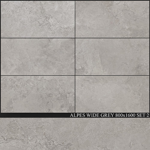 ABK Alpes Wide Grey 800x1600 Set 2