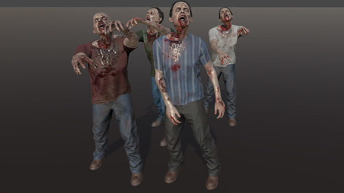 Zombie with T-Shirt