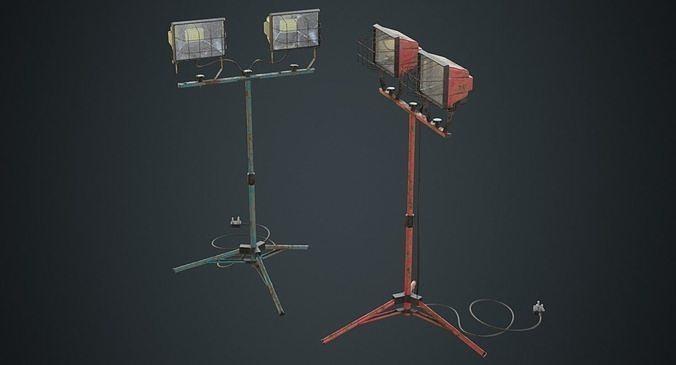 Mobile Construction Light 1B