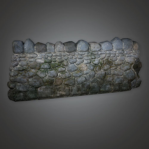 GFS - Outdoor Wall 07 - PBR Game Ready