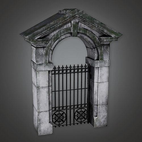 GFS - Outdoor Gate 17 - PBR Game Ready