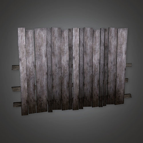 GFS - Outdoor Fence 03 - PBR Game Ready