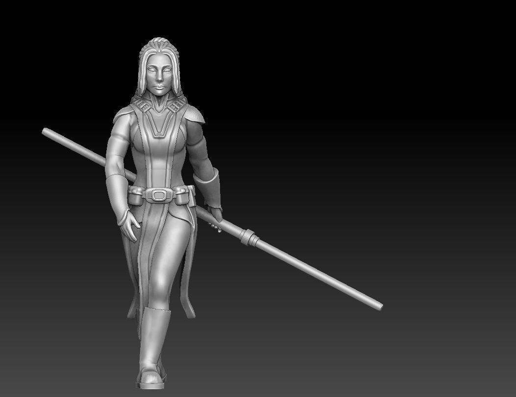 Ancient Female Warrior Bundle Dark and Light Versions