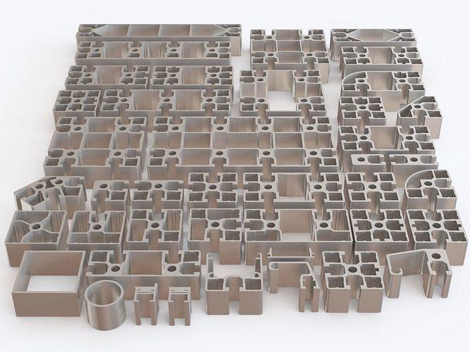 Profile aluminium 02
