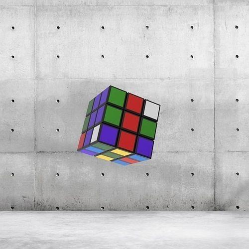 Rubik Cubes 3D Model