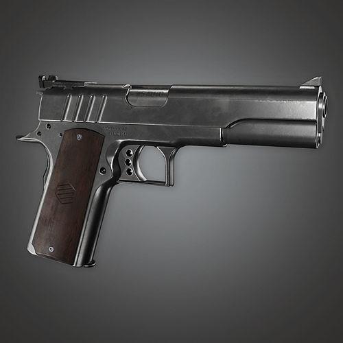 MHG - McKelvie SR Modern Handgun - PBR Game Ready