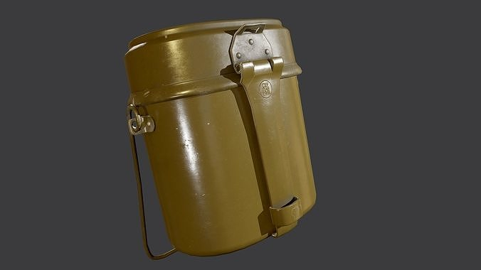 Army mess kit USSR Game Ready PBR