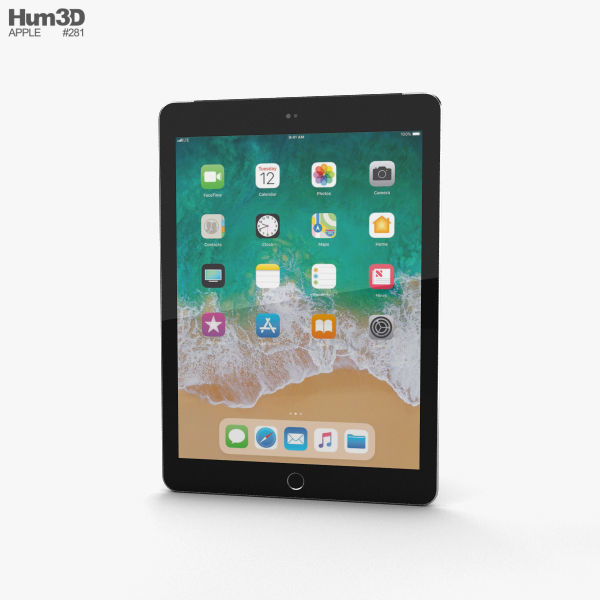 Apple iPad 9-7-inch 2018 Cellular Space Gray