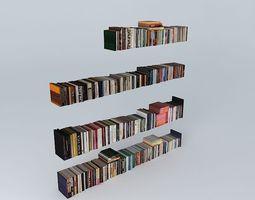 Bookcase bookcase 3D