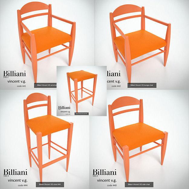 5 model pack - Billiani Vincent VG orange