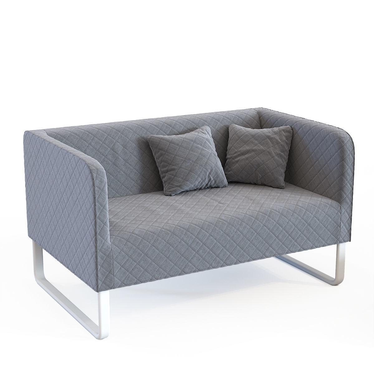 Ikea Knopparp Sofa Cgtrader