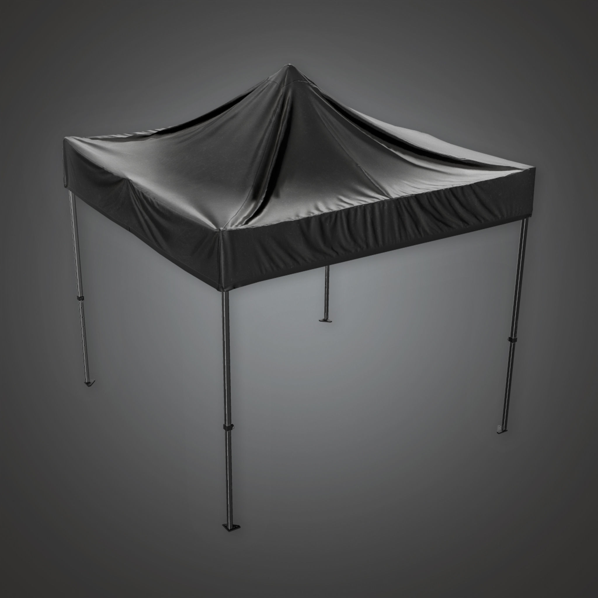 HLW - Outdoor Standup Tent - PBR Game Ready