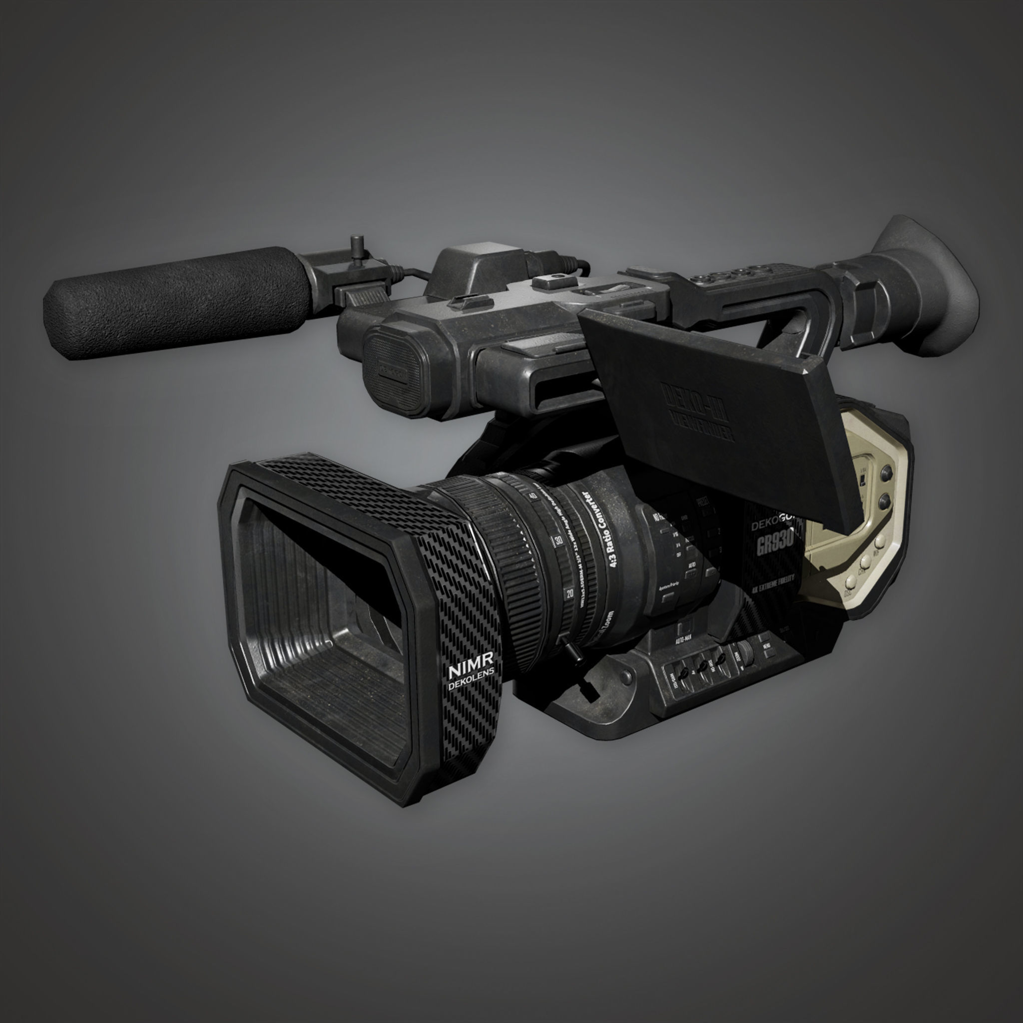 HLW - 4K Production Camera - PBR Game Ready