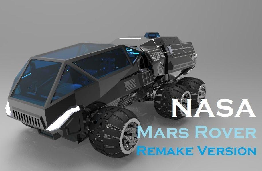 NASA Mars Rover Concept Remake Version