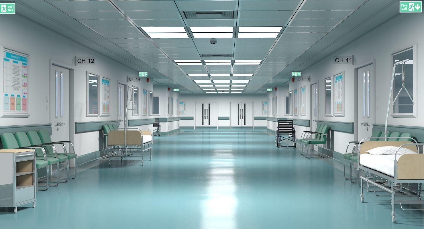 Hospital Hallway 1 Modular