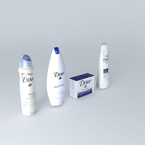 Toy Models Product : Products dove free d model max obj ds fbx stl dae