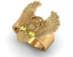 Ring eagle 3D printable model
