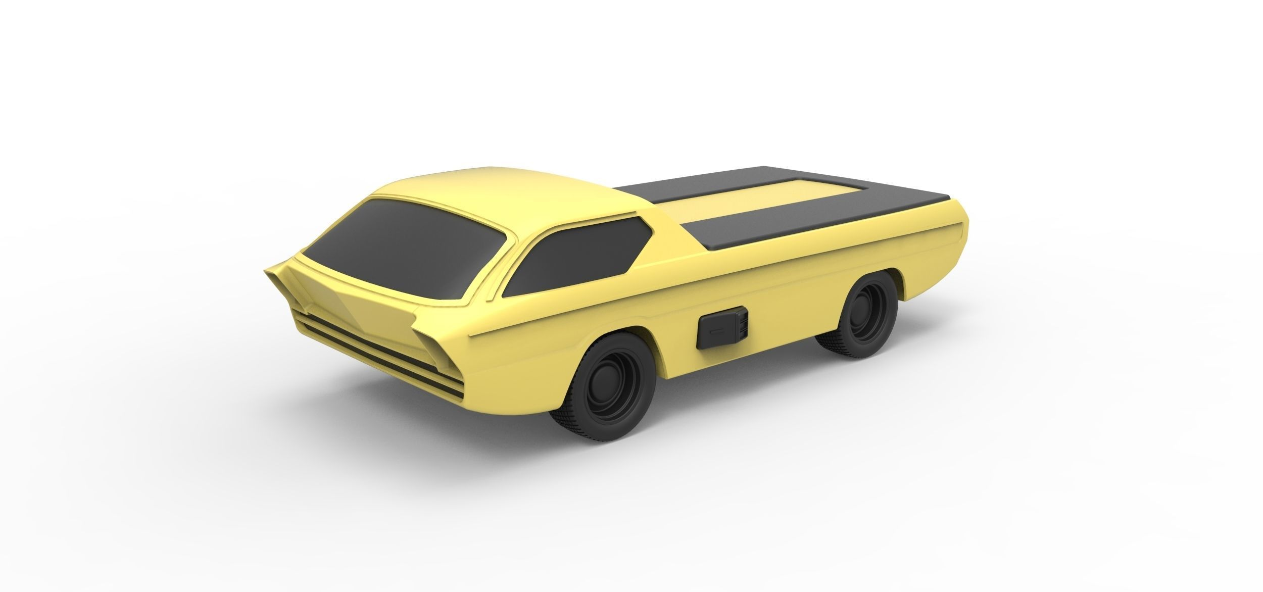 Diecast model Dodge Deora 1967 Scale 1 to 24