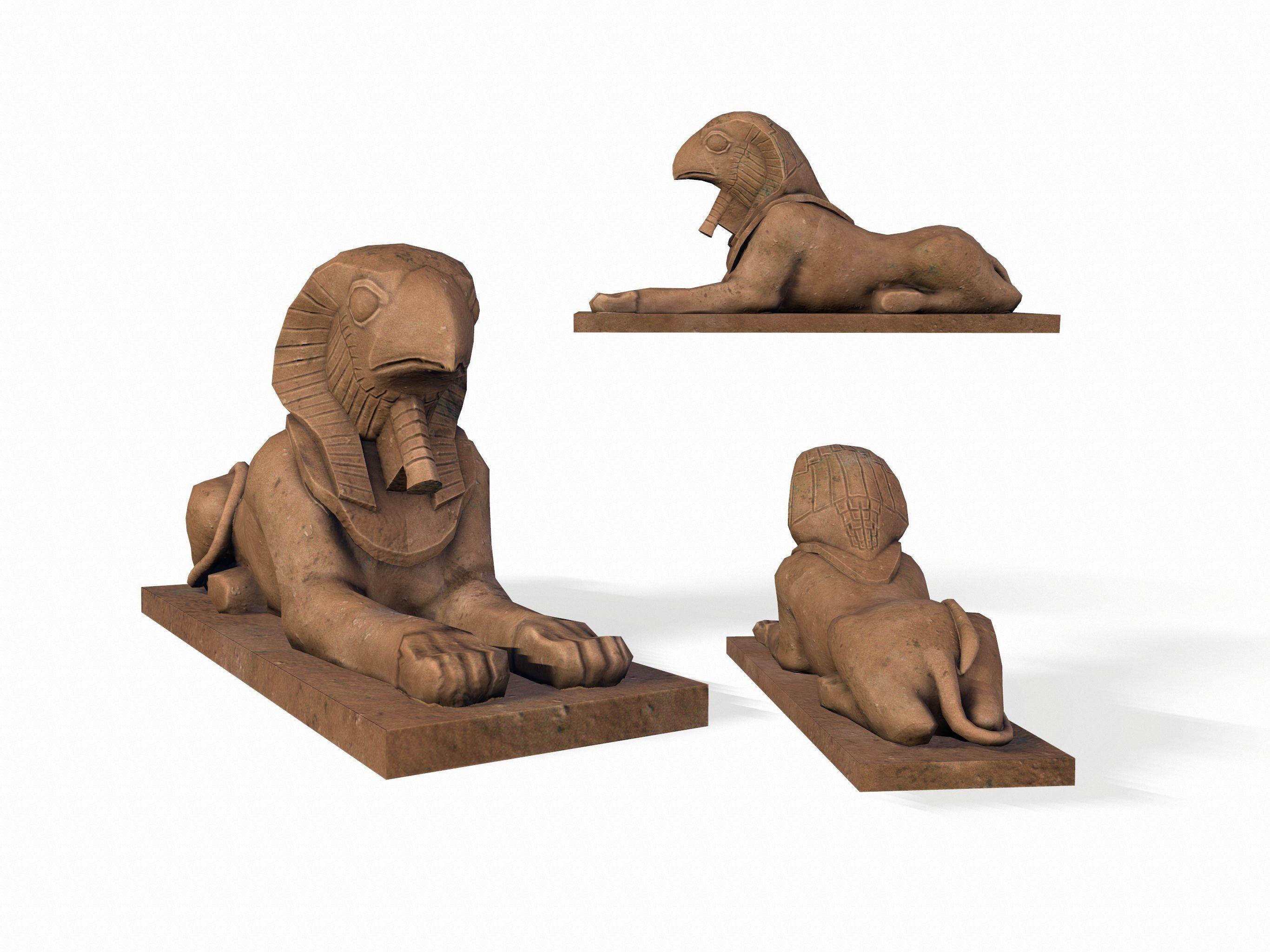 Horus sphinx Statue