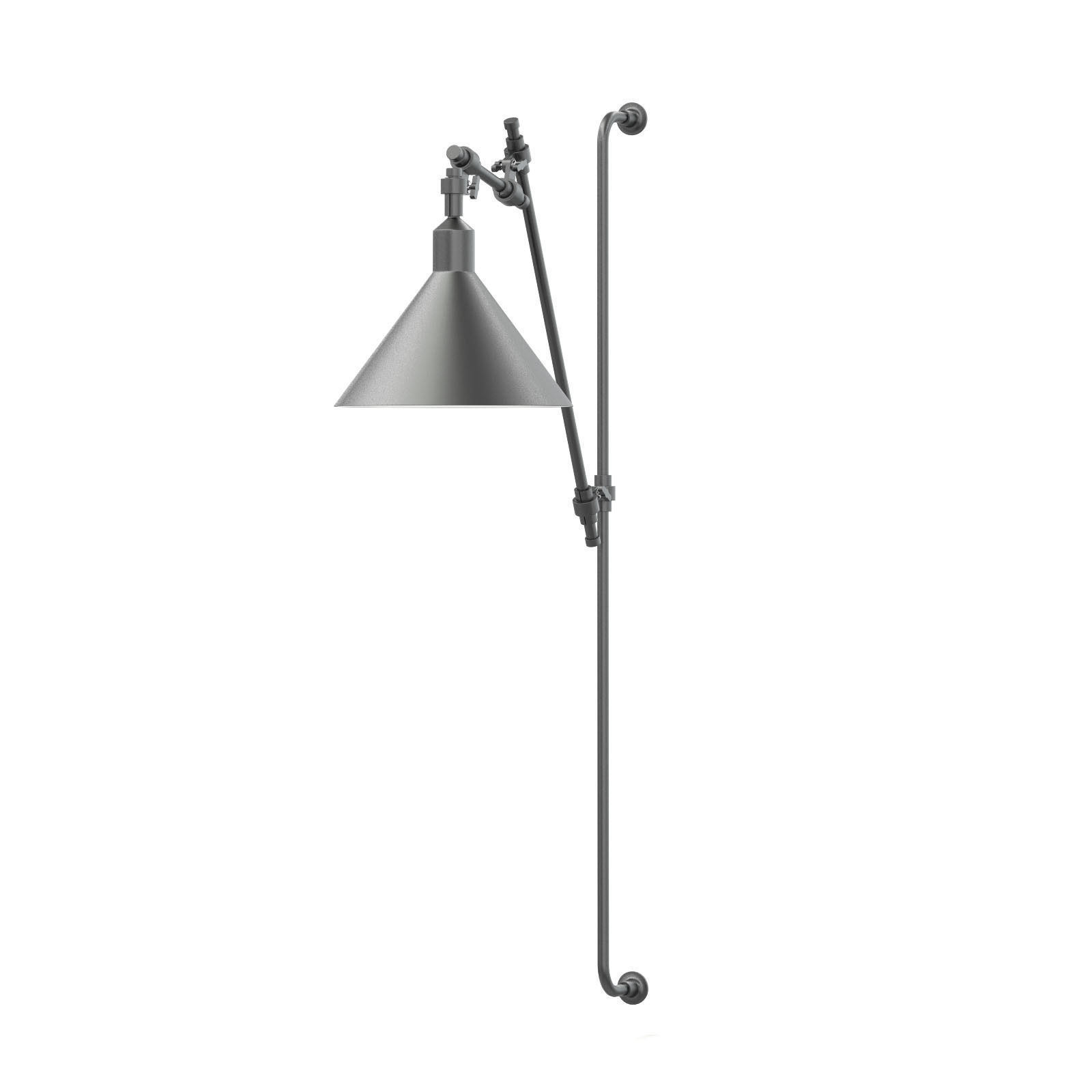 Black Wall Lamp 3D Model