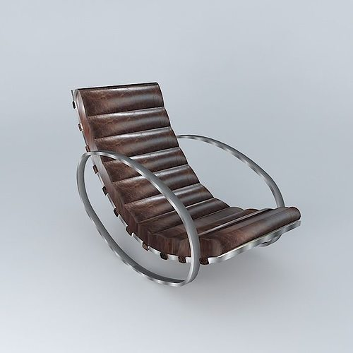 Rocking Chair Freud Houses The World 3D Model