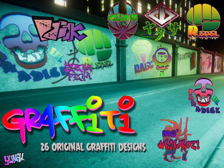 Graffiti Unity pack