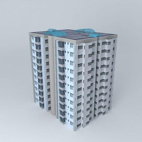 mp bhaban 1 3d model max obj 3ds fbx stl dae 1