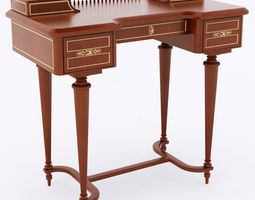 classical desk 3D Model