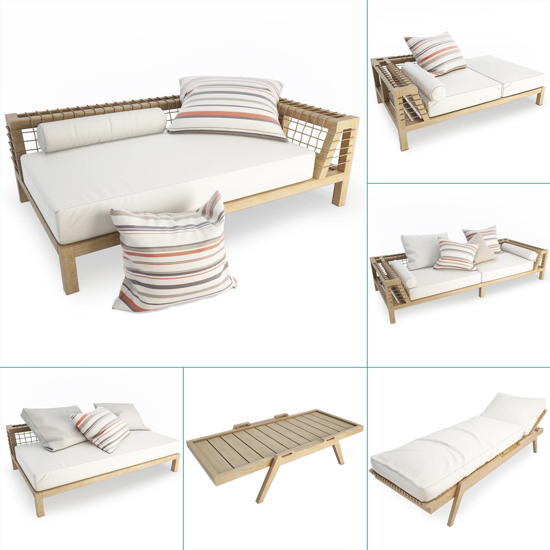 Synthesis Wooden Outdoor Furniture Unopiu