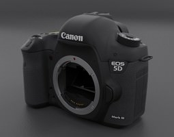 3D model Canon 5D mark III Body