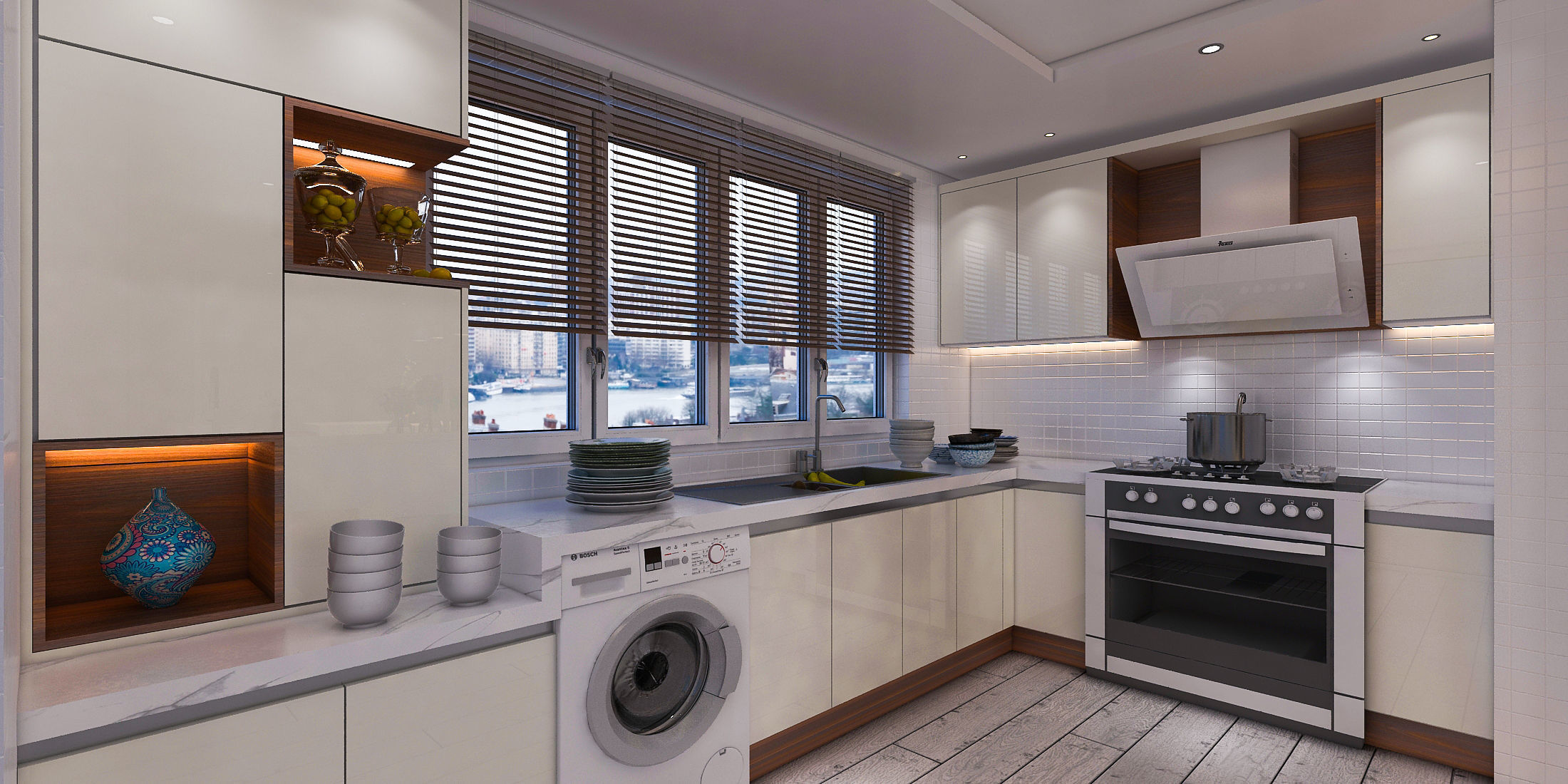 Modern Kitchen | 3D model