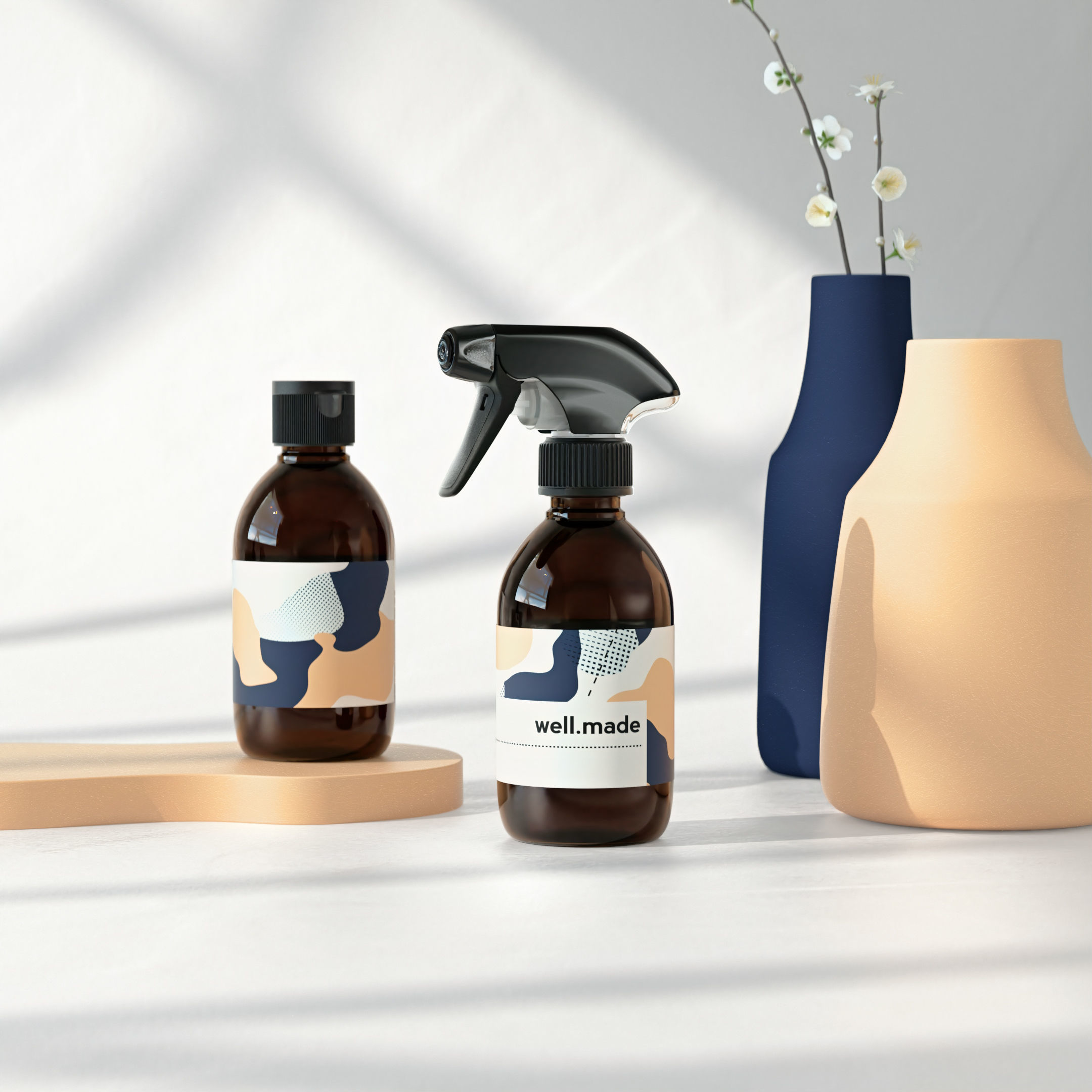 Spray Bottle and fliptop 250ml