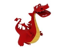 Cartoon Dragon 3D