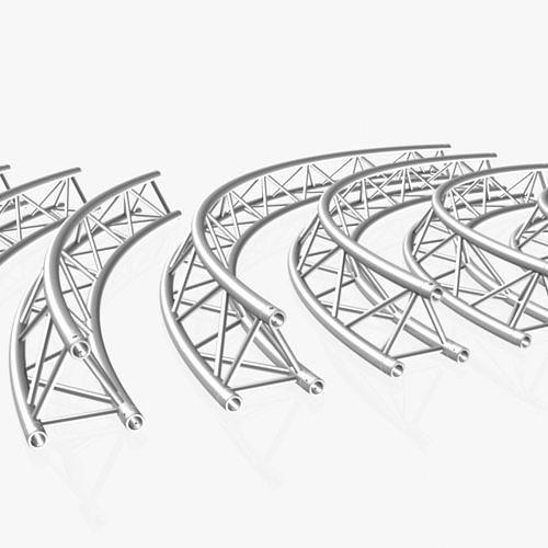 Circle Triangular Truss Modular Collection 10 Modular