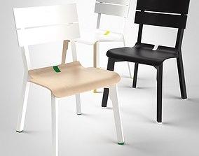 3D model Rotterdam Chair