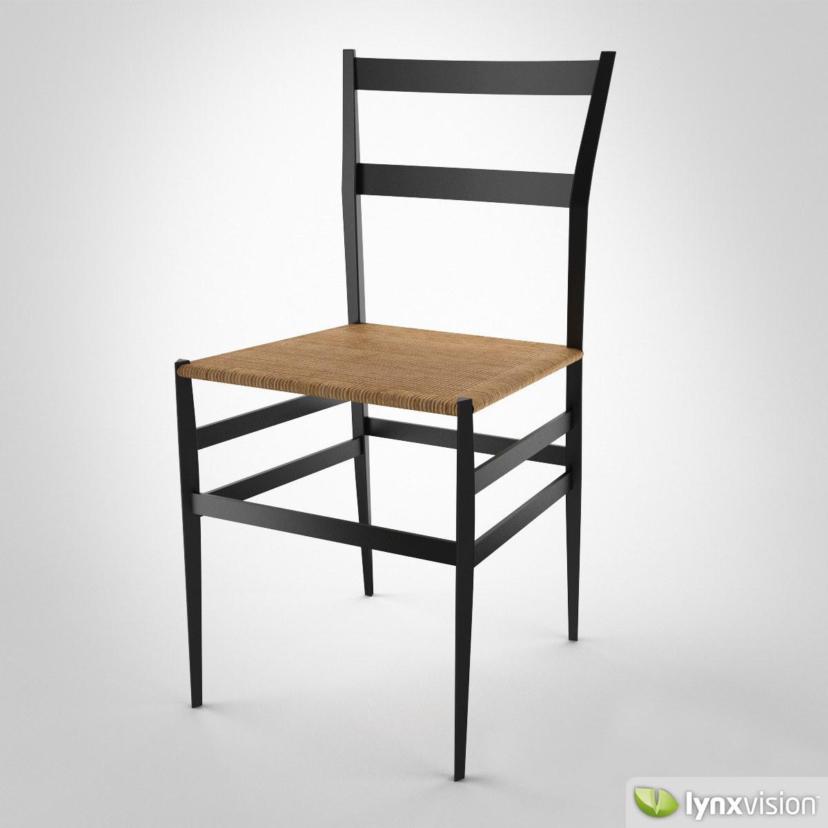 Gentil ... Superleggera Chair 3d Model Max Obj Mtl Fbx 2 ...