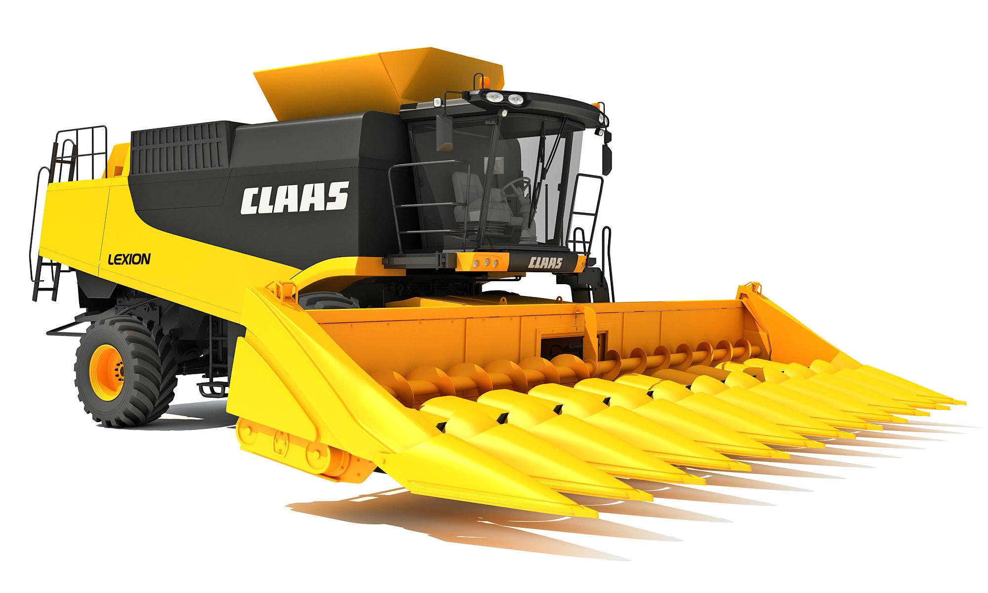 Claas Combine