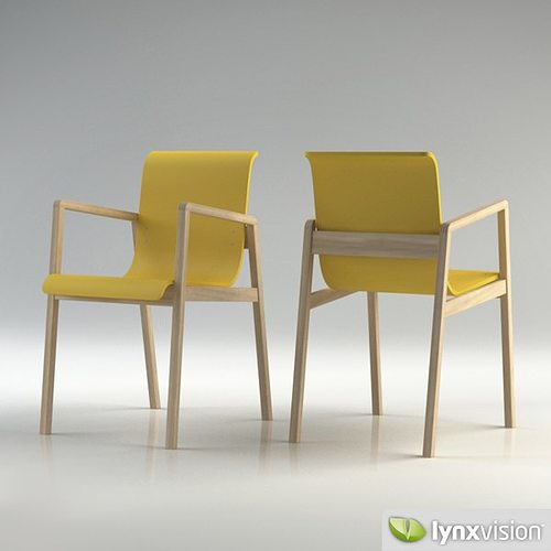 ... Hallway Chair 403 3d Model Max Obj 3ds Fbx Mtl 5 ...