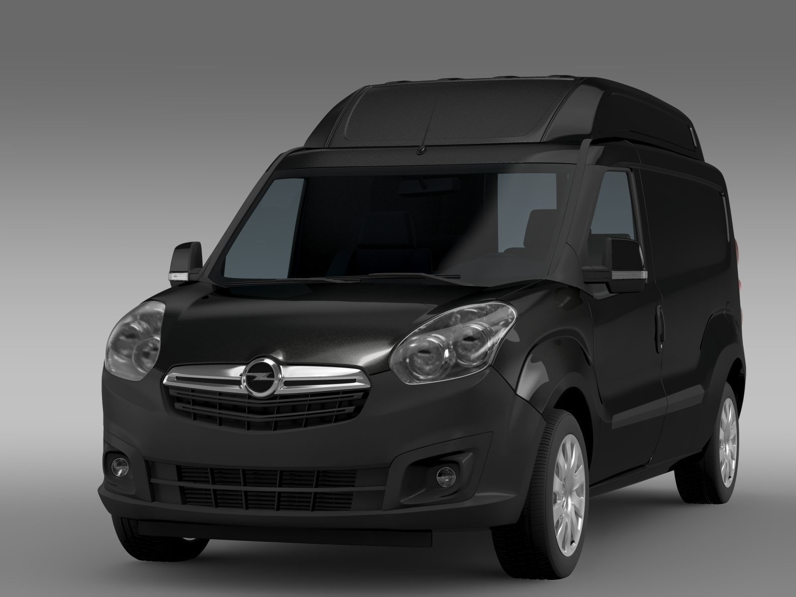 3d Opel Combo Lwb High Roof Cargo D 2015 Cgtrader
