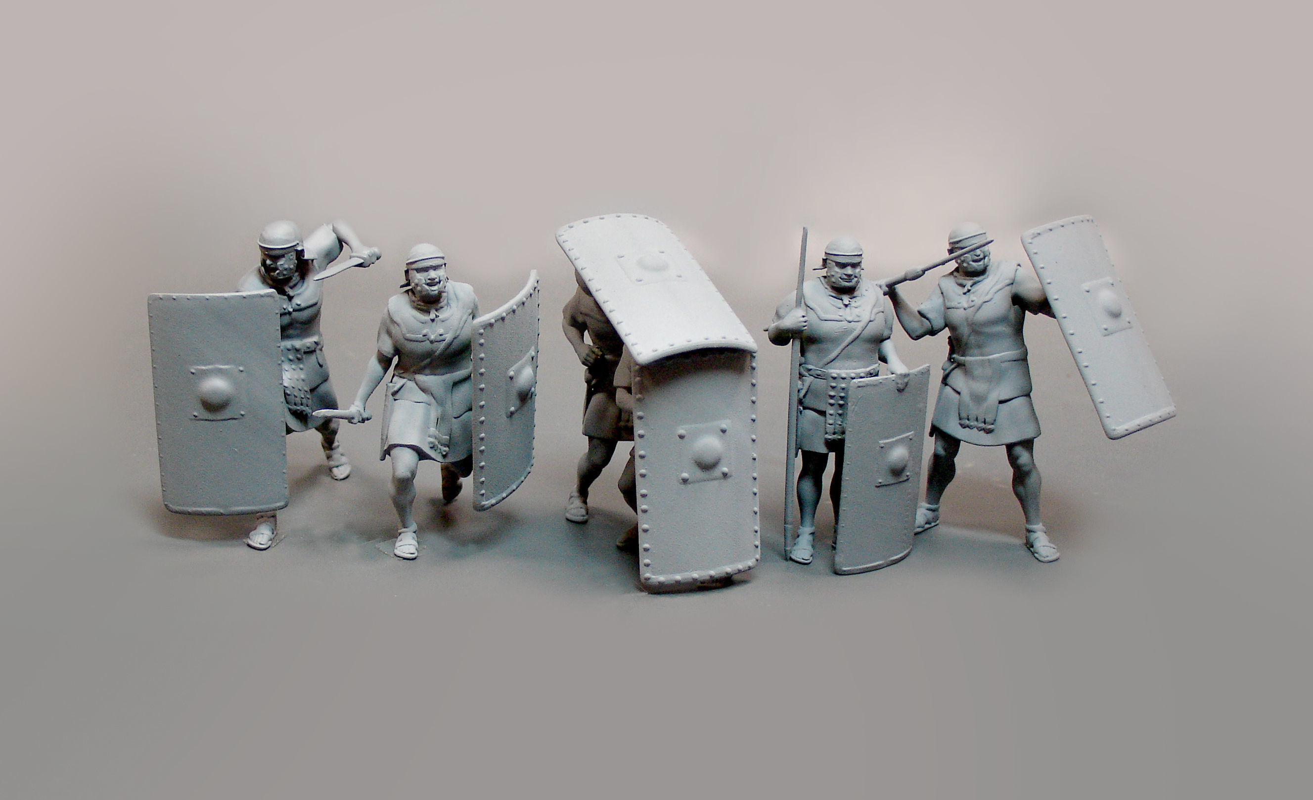 photograph regarding 3d Printable Figures named Roman legionnaires 6 data 3D Print Style