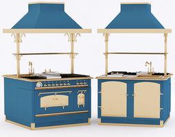 3d model restart elg042 cooking block felix royal