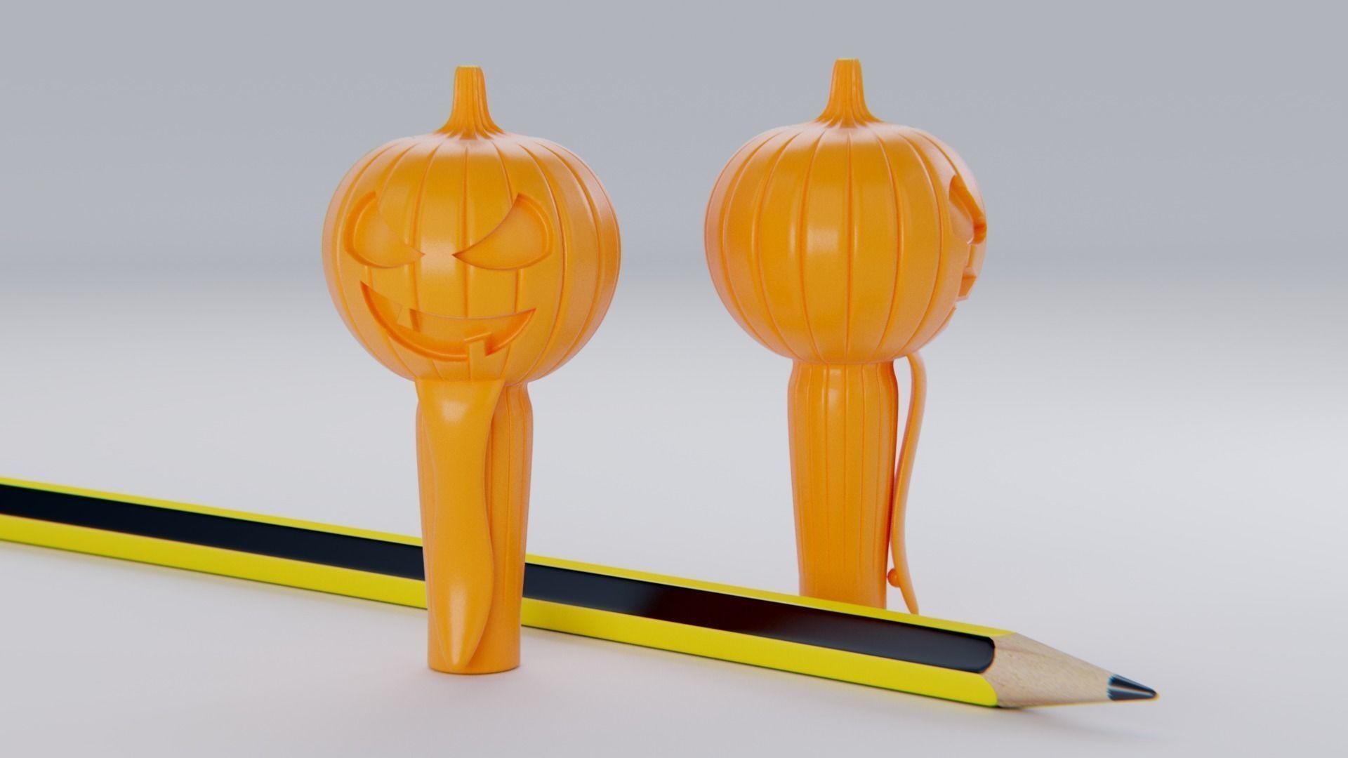 Pumpkin Pencil Cap
