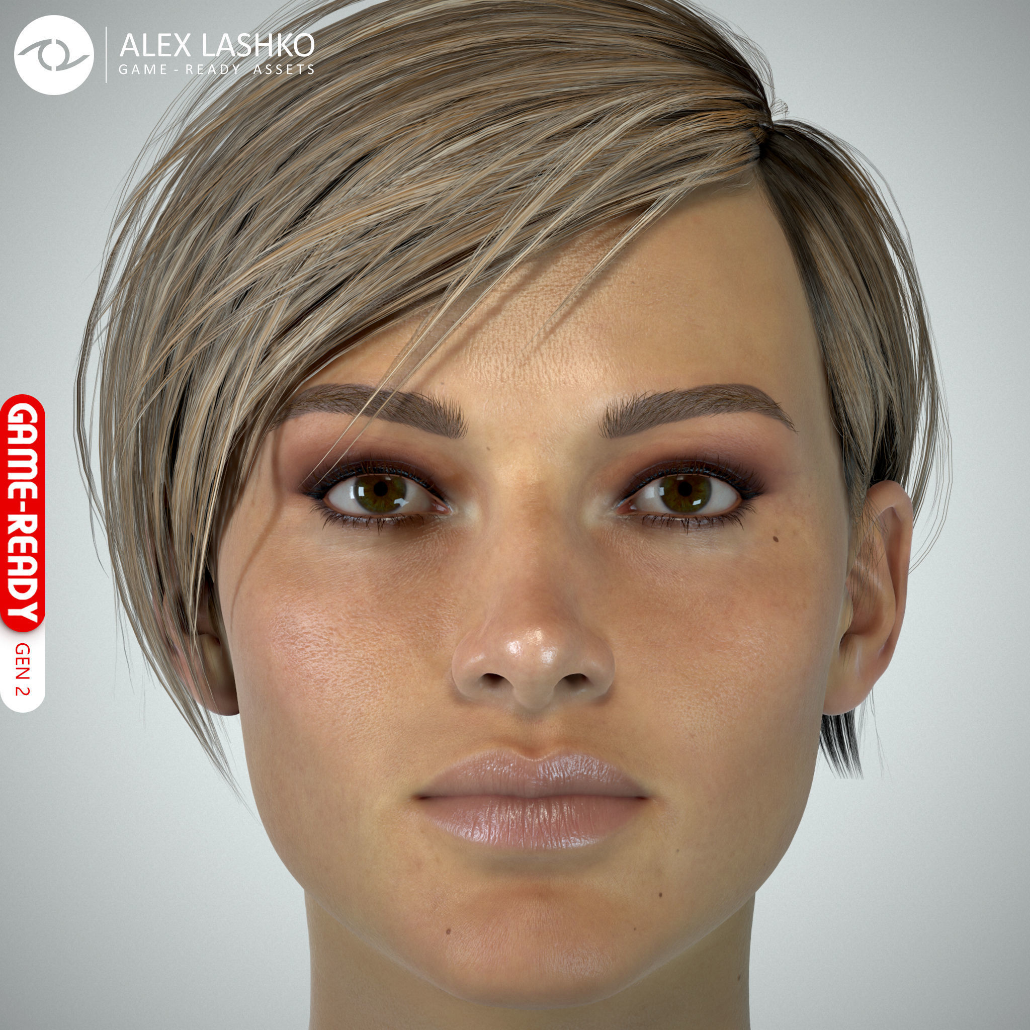 Female Head - Ana - Gen2