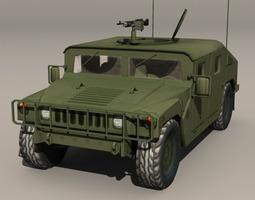 3D model Hummer Green