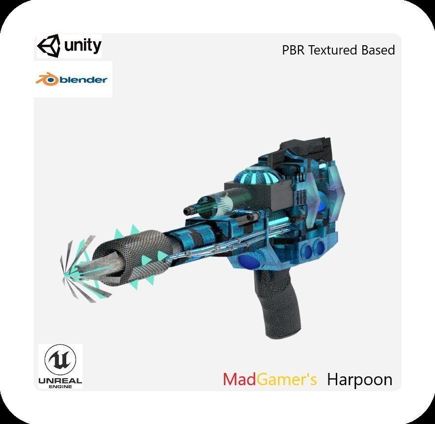 MadGamers Harpoon | 3D model