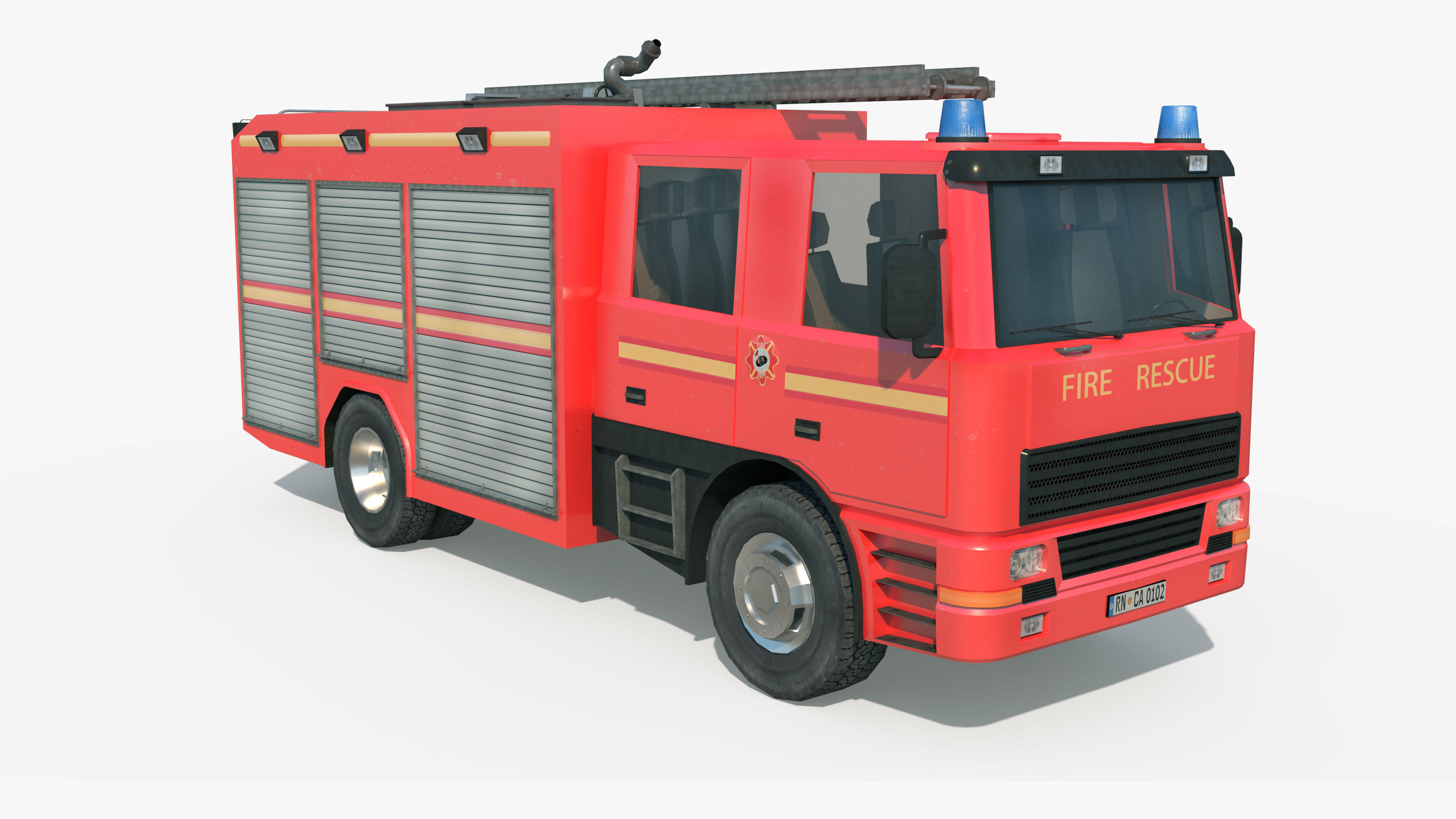 Fire Truck - Rescue Machine
