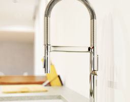Kitchen tap 3D