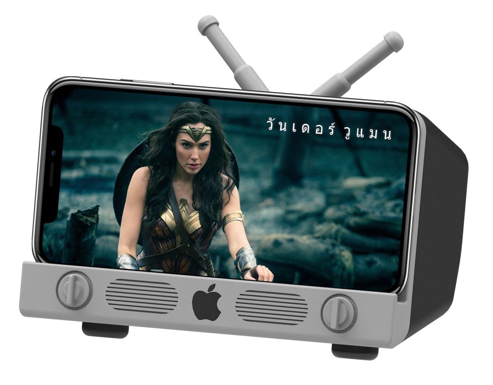 iPhone X Cell phone holder Apple Logo TV