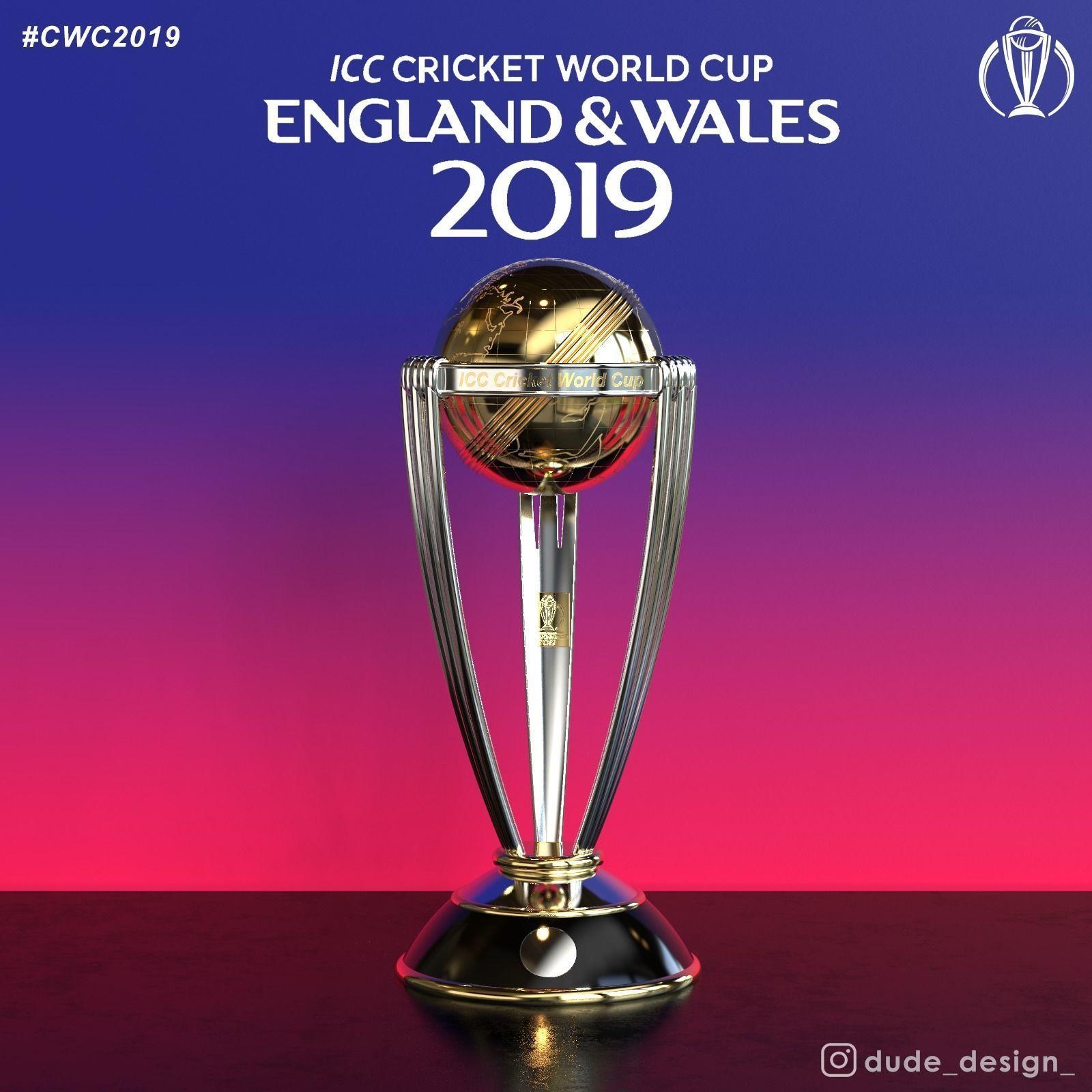 ICC Cricket World Cup Trophy | 3D model