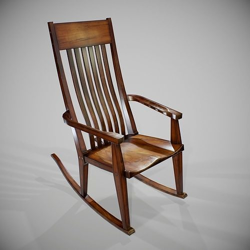PBR Rocking Chair